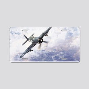 F8F Bearcat Aluminum License Plate